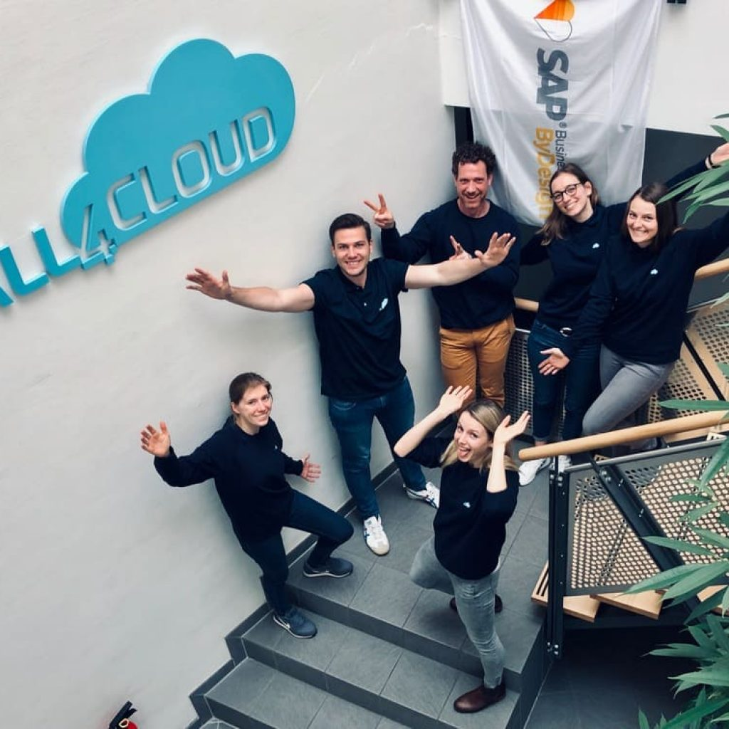 all4cloud sap cloud erp karriere consultant logo sap business bydesign spass