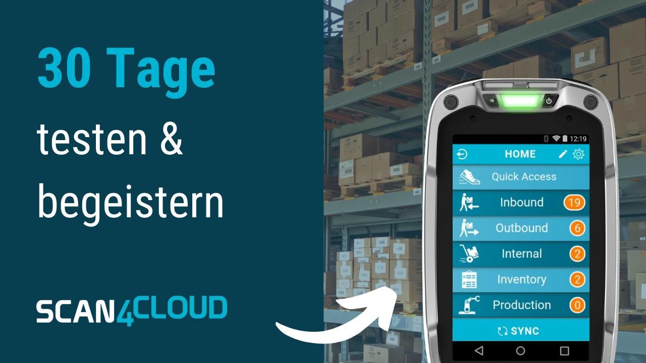 sap business bydesign sap cloud erp lager app scan4cloud mobile warehouse testen all4cloud