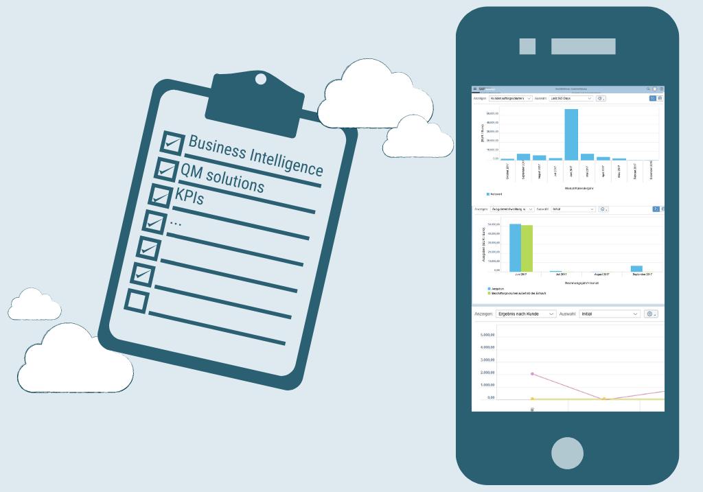 Cloud ERP Medtech KPI QM