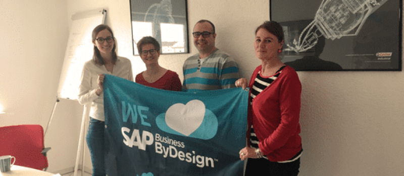all4cloud SAP Business ByDesign Kunde Referenz Edgar Schall Flaggenfoto