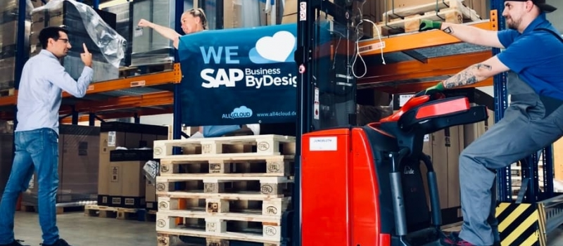 all4cloud sap business bydesign cloud erp referenzkunde elmatec lageroptimierung